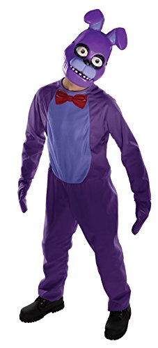 Foxy Five Nights At Freddy's Costume (Five Nights Child's Value-Priced  at Freddy's Bonnie Costume, Medium)