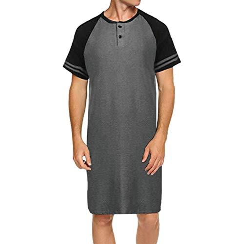 iHPH7 t-Shirt Men,Blouse Man,Shirt Men,Long Sleeve t-Shirt Men,Pullover Hoodie Men,Sweatshirt Men,Man t Shirts,Tops Men,Man Hoodie,Man Shirt, Man Hoodie,Macho Man Shirt S Gray ()