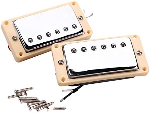 Guitarra Eléctrica Humbucker Chrome Pastillas De Doble Bobina ...