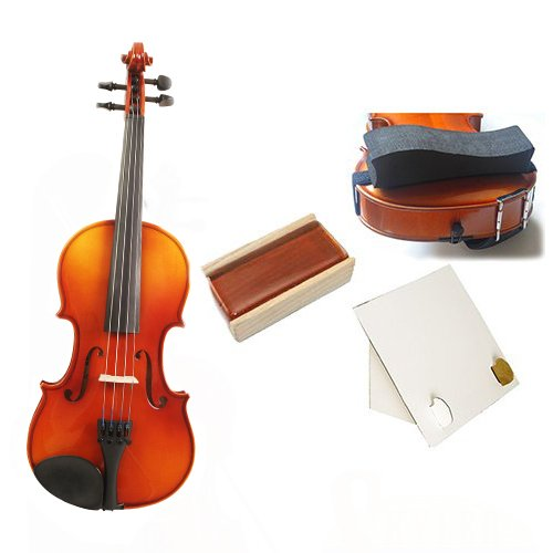 Knilling Europa 3/4 Size Violin Outfit (3K) -- with Bow + Rosin + Shoulder Rest + Desktop Stand