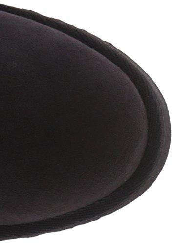 Women's Girl Fringed Sleet Boot Black Madden 0v6qUgAwg