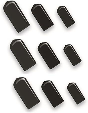 ECP Flat E-Coat Protectors Paintless Dent Repair Tool Soft Tip Caps PDR ECP-C- 1//2 12 Pack