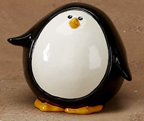 Happy Penguin Money Bank Paint Your Own Ceramic Keepsake