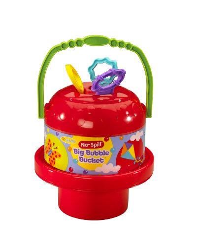 Bubble Bucket - Little Kids No Spill Big Bubble Bucket, Colors May Vary