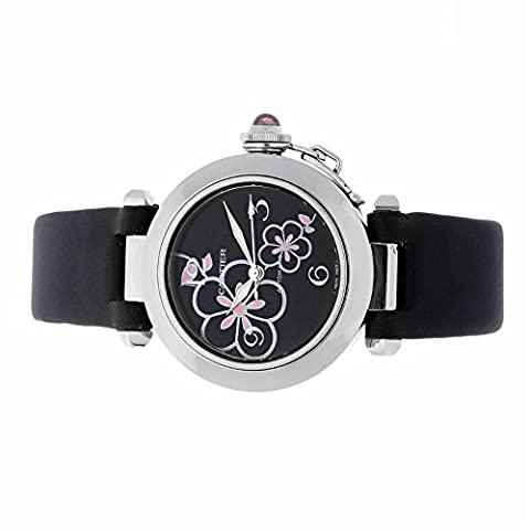 Cartier Pasha C automatic-self-wind womens Watch W3109699 (Certified Pre-owned) (Cartier Watch Women Black)
