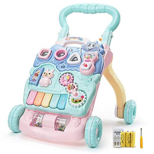 新しいスタイル 718ヶ月 赤ちゃん ロールオーバーを防止する 子供 バッテリー 歩くことを学ぶ 早期教育 ウォーカー 赤ちゃん トロリー リモートコントロール バッテリー 音楽 早期教育 調整速度 ハンドルを増やす B07GZRYYCR, えにし屋:feb1ff22 --- a0267596.xsph.ru