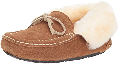 Cotton Shearling Blanket - Staheekum Women's Plush Shearling Lined Slipper, Luxe Wheat, 10 M US