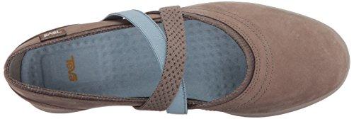 Teva Leather Life on W Walnut Slipper Hydro Slip Women's rwq1vxrO7