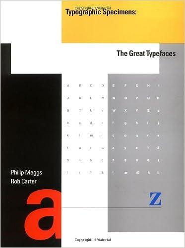 Typographic specimens the great typefaces philip b meggs rob typographic specimens the great typefaces philip b meggs rob carter 9780471284291 amazon books fandeluxe Gallery