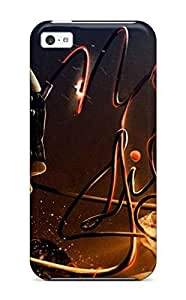 Iphone Case - Tpu Case Protective For Iphone 5c- Abstract Girl Images