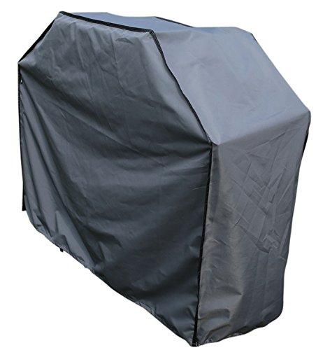 Schutzhülle / Cover für Barbecue BBQ Grill | Grau | 150 x 61 x 122 cm (L x B x H) | Wasserabweisend | SORARA | Polyester & PU Coating (UV 50+)| Premium | Abdeckhaube / Wettershutz | Regenfest | für Outdoor Garten Möbel