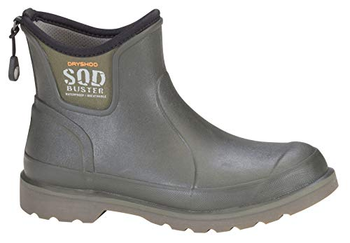 Dryshod Men's Sod Buster Ankle Moss Outdoor and Garden Boot SDB-MA-MS (Mens 9)