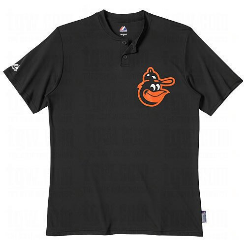 Majestic Youth MLB 2-Button Cooperstown Replica Jersey Orioles, medium