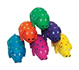 Polka Dot Pig Dog Toy
