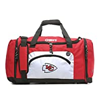 THE NORTHWEST COMPANY Officially Licensed NFL Kansas City Chiefs Roadblock Duffel Bag