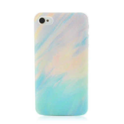 Lighting Color Oil Painting - Plastic Hard Case Cover - iPhone 4 4s
