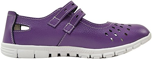 Absolute Footwear , Mocassins pour femme - violet - prune,