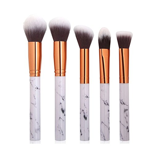 5Pcs Multifunctional Makeup Brush,Honhui Hot Sale man-made fiber Eyeshadow Concealer Brush Tool (A)