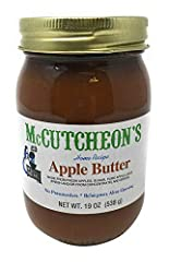Full of fresh apple goodness, McCutcheon's Old Fashioned Apple Butter is all natural, made from just apples, sugar, apple juice and spices.  Made from a time-tested family recipe, it's slow cooked in small batches for a rich, mellow flavor th...