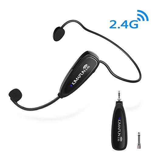 Wireless Microphone Headset Kimafun