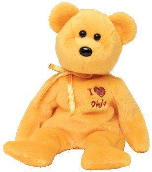 TY Beanie Baby - OHIO the Bear (I Love Ohio - State Exclusive) ()