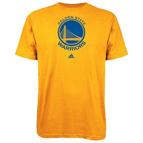 superior quality 6b723 f435e adidas Golden State Warriors Primary Logo T-Shirt - Gold