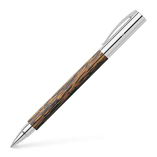 Used, Faber-Castell Ambition Rollerball Pen, Coconut Wood for sale  Delivered anywhere in USA