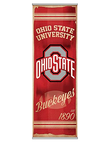 - NCAA Ohio State University Premium Canvas FanPanel. Instant Decor for Doors, Walls, Hallways. NCAA Gift, Party Decoration, Game Day Prize and Dorm Room Decor. 72 inches Tall by 24 Inches Wide