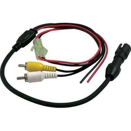 (Voyager 31300006 Camera Connector, 4-pin Female Camera Adapter to RCA Connectors with Power, Used to Tie The Camera Into Multi-plexing Systems and/or Video and Digital Recorders)