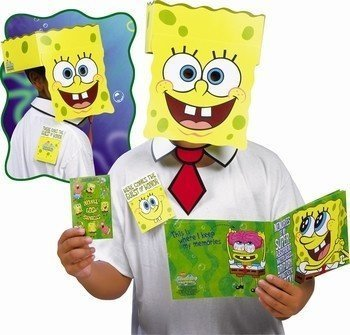 Spongebob Guest of Honor Party Mask]()