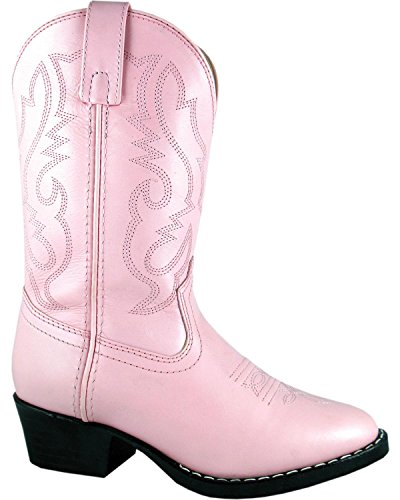 Smoky Mountain Boots Kids Child Denver Leather Western Boot Pink 6 M US Toddler