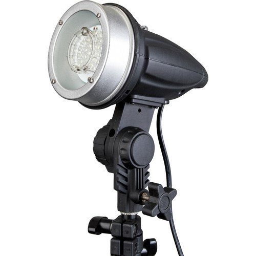 Impact SF-ABRL160 Stand Mount Flash with LED Modeling Light Slave Strobe Flash