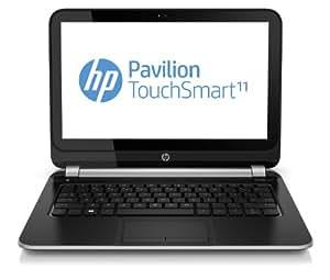 "HP Pavilion 11-e000ss - Portátil táctil de 11.6"" (AMD A6 1250, 4 GB de RAM, 500 GB de disco duro, AMD Radeon HD 8210, Windows 8), plata metalico - Teclado QWERTY español"