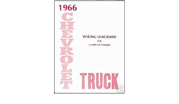 1966 chevrolet truck & pickup complete 10 page set of factory electrical  wiring diagrams & schematics guide covers panel, platform, suburban, low  cab,