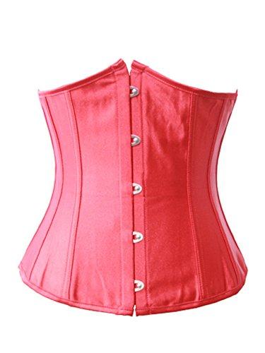 Pinkyee - Corsé - para mujer Rosso