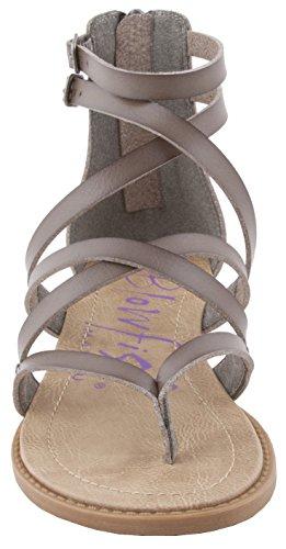 Blowfish Bungalow Women's Steel Wedge Grey Sandal fnf58Pxrqw