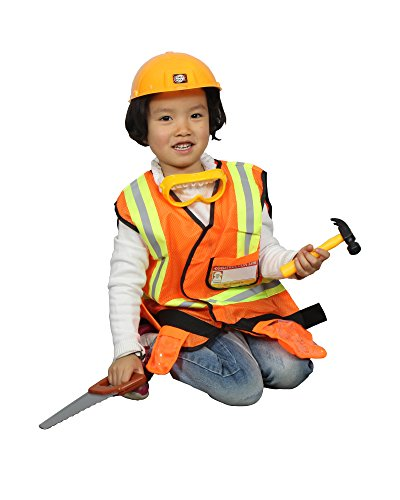 Moon Bay Construction Worker Costume Children Role Play Set for $<!--$23.99-->