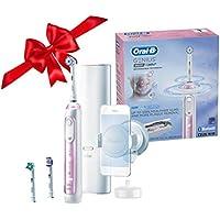 Oral-B 9600 Electric Toothbrush with 3 Brush Heads (Sakura Pink)