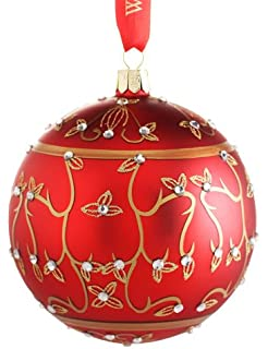 Amazoncom Waterford Holiday Heirlooms Gold Ball Christmas