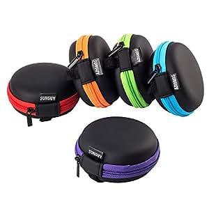 Amazon.com: Sunguy - Funda de transporte para auriculares de ...