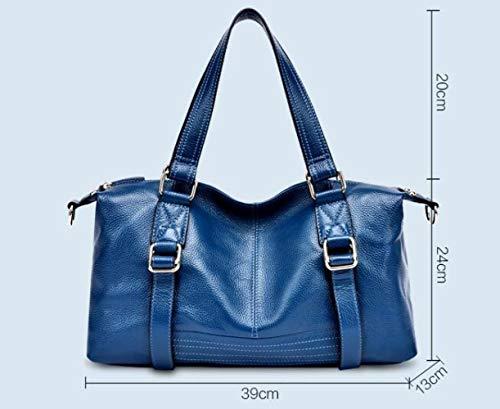 Dames Mode Zxmxk Shopping À Main Sac Pour Black Bandoulière Tempérament Sacs wqXRpXI