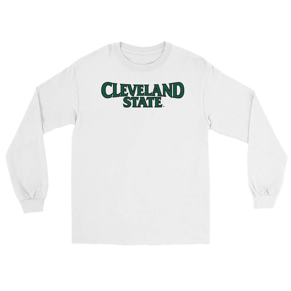 PPCVU06 Mens//Womens Boyfriend Long Sleeve Tee Official NCAA Cleveland State University Vikings