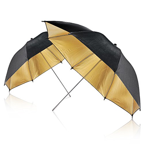 33'' Professional Photography Studio Reflective Lighting Umbrellas (Qty: 2) by Neewer