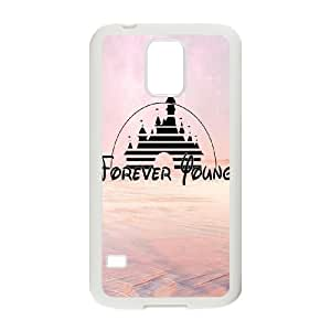 Forever Young Classic Personalized Phone Case for SamSung Galaxy S5 I9600,custom cover case ygtg589823