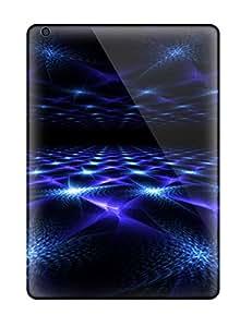 Frank J. Underwood's Shop New Style New Design Shatterproof Case For Ipad Air (blue Fractal Mirror)