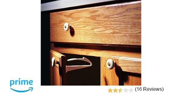 Amazon.com : KidCo Adhesive Mount Cabinet Lock 2 Pack : Cabinet ...