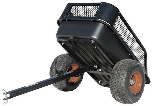 garden carts impact implements atv heavy duty utility cart  cargo trailer  ebay