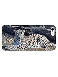 3d Full Wrap Case for iPhone 5/5s Animal Lazy Leopard23
