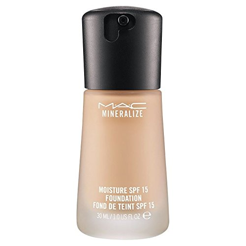 Mac Satin Mineralize Finish (MAC Mineralize Moisture Fluid SPF15 Foundation NW25)