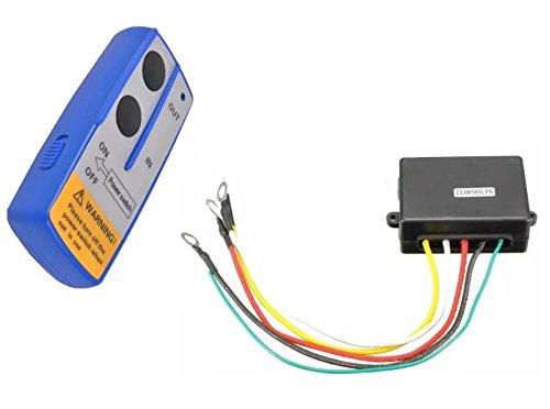 Dump Truck Control Switch : Kingfurt wireless winch remote control switch lift gate